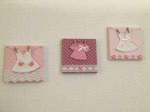 Tableau Pink Butterfly